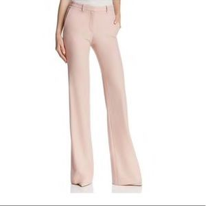 Theory Womens Demitria 2 Dress Pants Wool Wide Leg